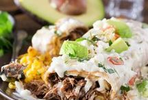 Mexican / Gotta have my Mexican food with taco recipes, enchilada recipes, burrito recipes, beef tacos, chicken tacos, shrimp tacos, pulled pork recipes, easy taco recipes, easy pulled pork, healthy taco recipes, and fish tacos!