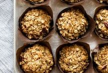 Muffins / Love these grab and go breakfast muffins, healthy muffins, easy muffins, sourdough muffins, blueberry muffins, carrot muffins, and basically all muffin recipes.