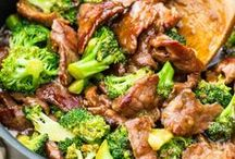 Stir-Frys and One Pot Meals / One pot dinner, one dish meal, stir fry recipe, asian stirfry recipe, noodle stirfry recipe, vegetable stirfry, beef stirfry, pork stirfry, stirfry over rice, stirfry sauce, sweet and sour sauce, beef and broccoli recipe, easy stirfry, healthy stirfry recipe, and lots more...