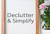 Declutter & Simplify