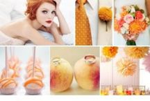 """Оранжевое настроение / Оформление свадьбы в стиле """"orange"""""""