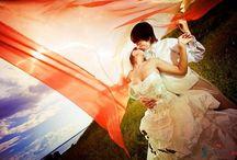 Идеи для свадебной фото / Фото свадьбы, лавстори