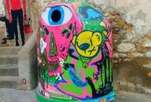 #GRAFFITI - M.I.A.U / FANZARA-CASTELLÓN (ESPAÑA) \\\ M.I.A.U (Museo Inacabado de Arte Urbano.    #Mural #Graffiti #Stencil