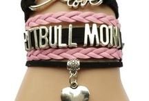 Dog Bracelets / Wear your love of your pet on your wrist.  Pick one using your dog's breed.