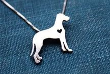 Dog Necklaces / Show the love of your dog with a beautiful necklace in gold or silver.  Just pick the breed of your pet.