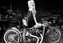 Pin up bike