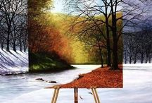 Art, inspirational, art projects / Painting is easy when you don't know how, but very difficult when you do. ~Edgar Degas