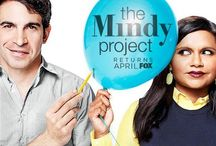 TMP / A mixture of all things The Mindy Project, Mindy Kaling and Chris Messina pins, because Mindy & Danny are everything.