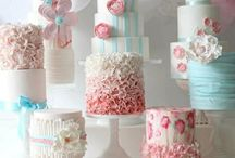 Cakes / Lots and lots of cakes.