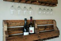 Crafts & Ideas: Vine /Glas hållare