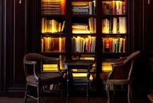 "Bibliophile  / ""Between the pages of a book is a lovely place to be."" -April Starr"""
