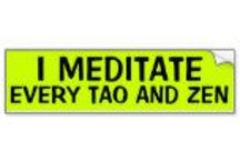 Mind your mind, body & soul:Meditation / Zazen is a particular kind of meditation, unique to Zen. Basically, zazen is the study of the self.