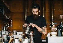 Barista / These coffee scientists can make our lives heavenly.. They deserve a board just for them selves.. Please add your photos,, even if it is your friend or even from your coffee house.Thank you Join us @https://www.facebook.com/pages/Coffee-Society/651773478236556