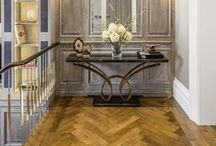 WELDON Parquetry / Parquet flooring has been used in the finest houses since the 17th century France where it became de rigeur in the formal rooms of chateaux across Europe. Weldon's parquetry floors continue the tradition bringing the warmth, finesse and a classical elegance to a range of interior styles.