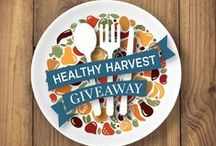 #MyHealthyHarvest Giveaway / Announcing the Healthy Harvest Giveaway. Learn what it takes to eat healthy. Win what you need to eat well, courtesy of New England Federal Credit Union and Fletcher Allen. The giveaway runs September 23 - October 21. Find out more here. http://on.fb.me/1cYJ4kq
