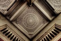 Ceiling inspiration / When not admiring amazing floors we do appreciate incredible ceilings and roof structures.