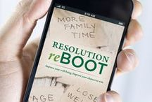 Resolution Reboot 2015! / Resources to help you reach your New Year's resolutions!