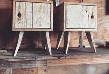 Incredible transformation / Wood from the ocean as a beautiful piece of furniture in your home.