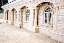 Cast Stone Accent Banding / Cast Stone Accent Banding, Watertable, Midline Banding, Cornice, Entablature