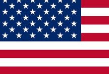 American Flags / Here you can see lots of flags related to the United States of America