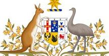Coat of Arms of Australia and Countries of Oceania / Here you will see coat of arms of Australia and countries of Oceania.