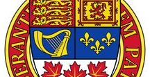 Canadian Coat of Arms / Here you can see the canadian coats of arms