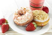 Fruity Treats Fresh for the Pick'n at Krispy Kreme / Enjoy the simple, light and fruity flavors of Krispy Kreme® Fruit Stand Flavor doughnuts and Chillers®.  New Strawberry Cake with Cream Cheese Icing and Strawberry KREME™ Pie doughnuts available now through May 20 at participating Krispy Kreme® US and Canada locations.  Pair these delectable strawberry selections with Krispy Kreme's Very Berry and NEW Frozen Lemonade Chillers for a refreshing blend of seasonal fruit flavors.   / by Krispy Kreme