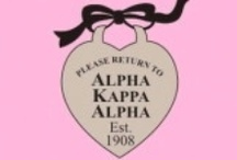Dear Alpha Kappa Alpha / Founded in 1908 at Howard University, Alpha Kappa Alpha Sorority, Inc. (AKA) is the oldest Greek-lettered organization established by African-American college-educated women. Our colors: salmon pink & apple green. Our symbol: the ivy leaf. Our flower: the pink tea rose. (Me: Boule via ΛΘ, Fall '87 #Legacy #SilverStar #LifeMember)  / by SonyaB