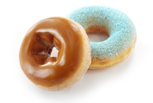 County Fair Season at Krispy Kreme / Krispy Kreme® is taking your tastebuds on a trip to the county fair with four new blue ribbon doughnuts and beverages.