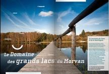 Les Grands Lacs du Morvan / Lacs, rivières, cascades et tourbières se côtoient en Morvan, les eaux y sont vives ou tranquilles, elles se prêtent à la pratique de différentes activités de pleine nature (rando, canoë kayak, rafting, voile, catamaran, ...)