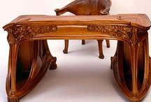 Antique Desk & Accessories / by Andrea Ellis