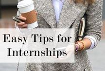 All About Internships / This page is all about Internships.  Obtaining an internship is an involved process, and the students who find the most success are the ones who are diligent and thoughtful in their approach.  A well-formulated strategy will help you achieve your goals.