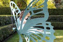 Jolies décos de Jardin, le very gardens decorations / Pour enjoliver nos jardins