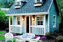 Cabanes de mes rêves, huts dreams / J'adore les cabanes !