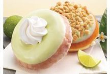 Catch a Key Lime Flavor Wave / Summer sweetness is now in season with two new sun-kissed and handpicked Key Lime treats from Krispy Kreme®. Key Lime Cake and Key Lime Cheesecake Doughnuts are available starting April 22, 2013 at participating Krispy Kreme US and Canadian locations. / by Krispy Kreme