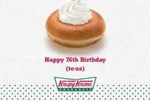 Krispy Kreme 76th Birthday