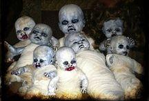 Creepy Dolls / by Barbara Ellquist