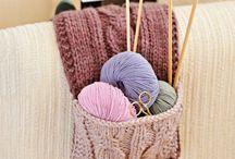 Tricots, knits / Les aiguilles dans les mains, un bonheur, un bien être total
