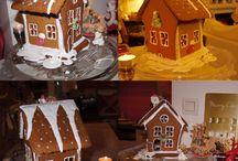 Pain d'épices, ginger breads / Du rêve à l'état pur au moment de Noël, son odeur,  sa douceur en bouche et de si jolies décorations possibles