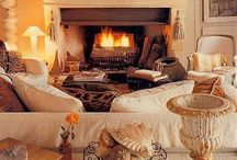 Sweet  winter ambiance / Une douce maison en hiver  / by Michèle Lanau