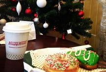 Fun With Holiday Doughnuts / Holiday get-togethers and sweet treats from around the world. / by Krispy Kreme