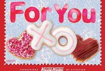 Share The Love - Valentines Day 2015 / Our Valentine Doughnuts feature Hearts, Hug (O-shaped), Kiss (X-shaped), and the NEW Luv Bug doughnuts. / by Krispy Kreme