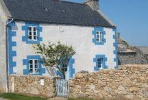 Vacances bretonnes mes préférées / Les endroits où j'ai séjourné  / by Michèle Lanau