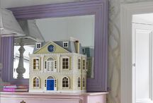 Maisons de poupées, Dollhouses / Le rêve d'enfant  / by Michèle Lanau
