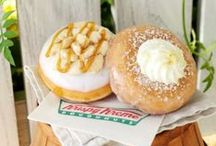A Southern Style Summer / Bring the sweet tastes of the South to your next summer gathering. Krispy Kreme's Southern Classics doughnuts are inspired by the authentic taste of two deliciously sweet and tangy Southern favorites. The new Lemon Kreme Cake doughnut and Peach Pie doughnut are available now through July 6, 2015 at participating Krispy Kreme® US and Canada locations. / by Krispy Kreme