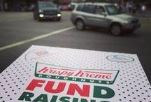 Krispy Kreme Fundraising / Raise some dough for your organization. Choose four simple options for fundraising for your school, community or organization.  / by Krispy Kreme