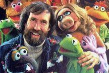 Jim-Frank-Kermit-Miss Piggy / by Sandi Sturdy