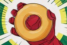 Superhero Day 2016 / Doughnuts save the day!  Customers who buy a dozen Original Glazed® doughnuts at regular menu price will get another dozen Original Glazed doughnuts absolutely free at participating U.S. shops on April 28.   It's a sweet way to celebrate the Super Heroes in your life! / by Krispy Kreme