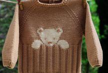 Tricots enfants et bébés  ,  childs and babies knit