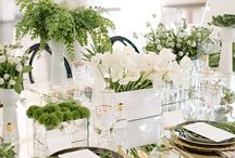 Green and white wedding / The trend for 2017 Pantone